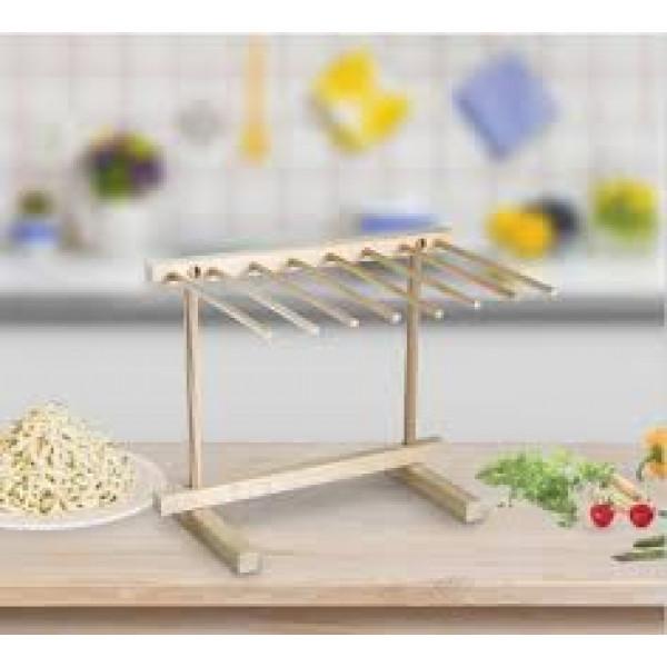 "Wood pasta drying rack, 11.5"" x 14"""