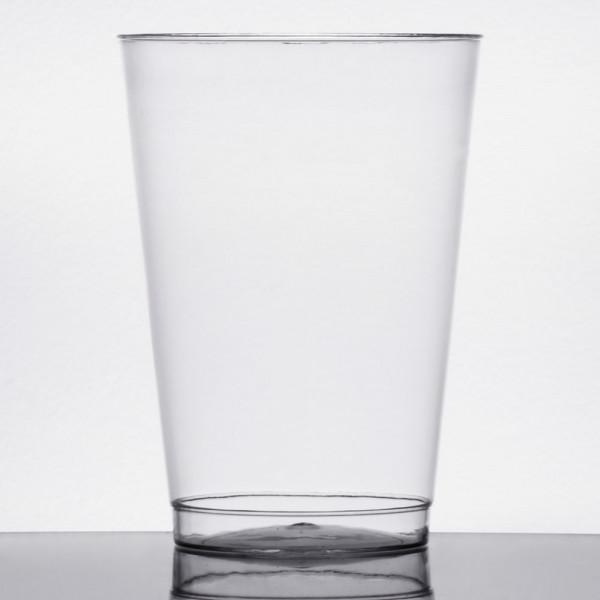 12 oz Clear plastic tumbler, 20pk/25