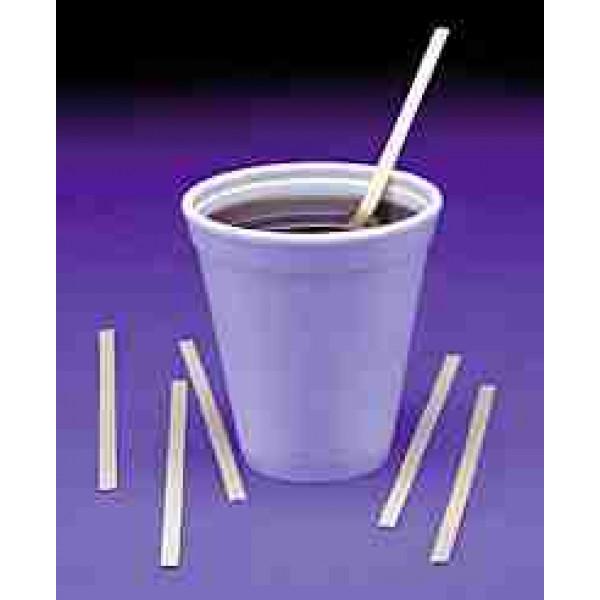 "Wood coffee stirrers, 5.5"", 10bx/1000"