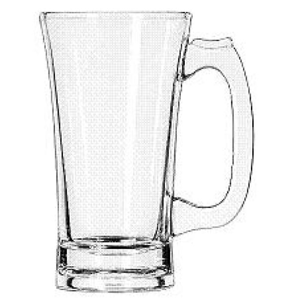 Flared mug, 10 oz., 2dz/case