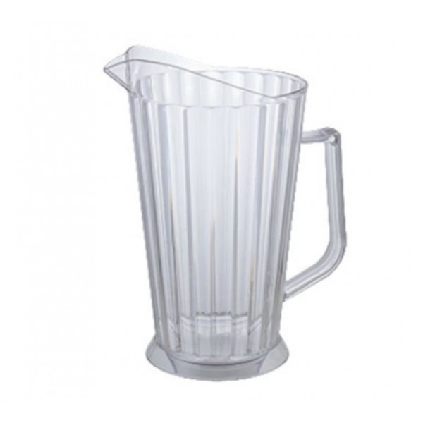 Polycarbonate Pitcher 60 oz., tapered, clear