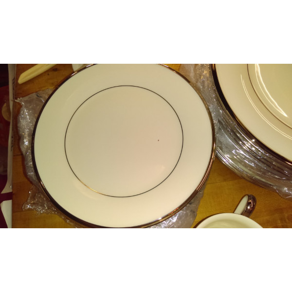 """Solitaire 10.25"""" Dinner Plate"""
