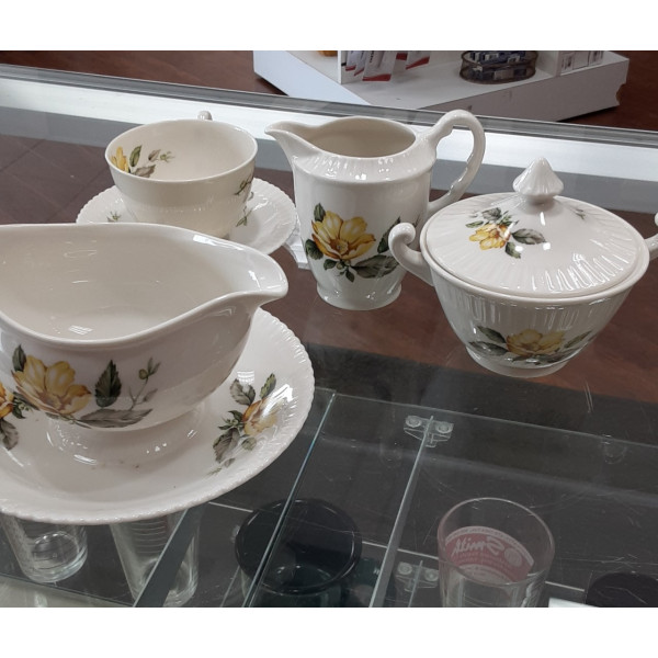 Yellow Roses Cup & Saucer